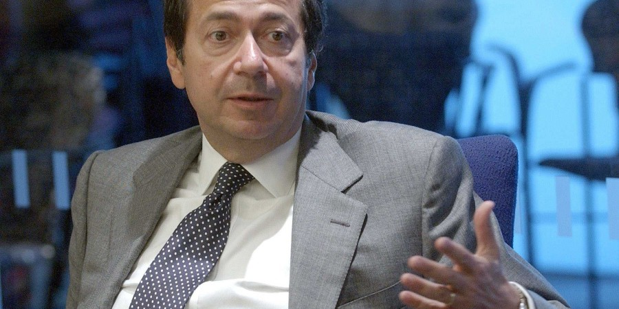 john-paulson-founder-of-new-york-based-hedge-fund-paulson-and-co-speaks-at-the-reuters-hedge-funds-and-private-equity-summit-in-new-york-september-7-2005