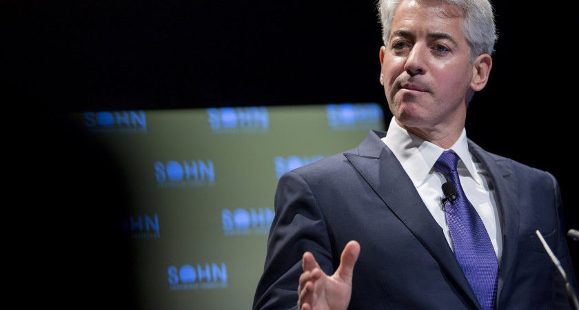 "William ""Bill"" Ackman, founder and chief executive officer of Pershing Square Capital Management LP, speaks during the 20th Annual Sohn Investment Conference in New York, U.S., on Monday, May 4, 2015. Since 1996 the Sohn Investment Conference has brought together the world's savviest investors to share fresh insights and strategies in support of pediatric cancer research and treatment. Photographer: Andrew Harrer/Bloomberg via Getty Images"